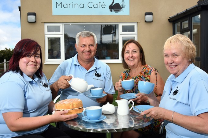 Whixall Marina Cafe Opening August 2018